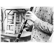 The Clarinet Player Poster