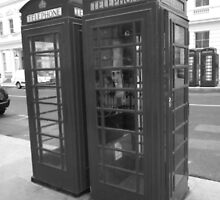 Telephone Box by Netnoe
