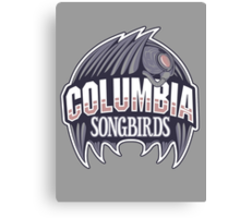 Columbia Songbirds Canvas Print