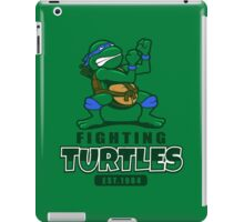Fighting Turtles - Leonardo iPad Case/Skin