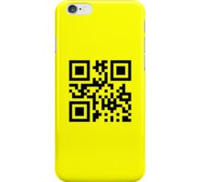 Smiley ☺ Happy Face -- QR Code iPhone Case/Skin