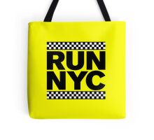 RUN NYC TAXI Tote Bag