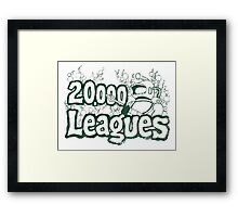 20,000 Leagues Vintage Framed Print