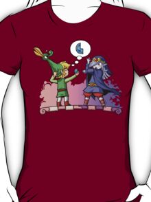 Legend of Zelda Vaati and Link T-Shirt T-Shirt