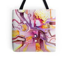Sunberry - Abstract Watercolor Painting Tote Bag