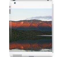 Evening light on Lake Rotoiti, South Island iPad Case/Skin