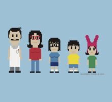 8-Bit Bob's Burgers by AlCreed