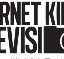 Internet Killed Television, Circuit board  Sticker