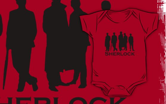 Sherlock Silhouettes  by Anglofile