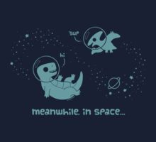 Meanwhile, In Space... by KristyKate