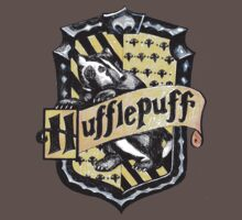 Hufflepuff Crest by OverTheEdge42