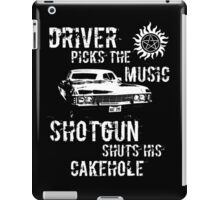 Driver Picks the Music iPad Case/Skin