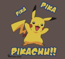 Pika Pika PIKACHU!! by mancerbear