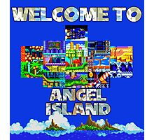 Welcome to Angel Island Photographic Print