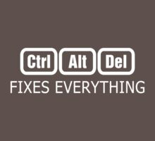 Ctrl + Alt + Del -> Fixes Everything by ottou812