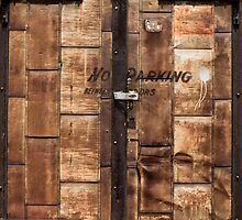 Rusty Back Alley Door by Joseph Donley