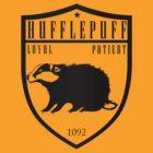 Hufflepuff Crest by machmigo