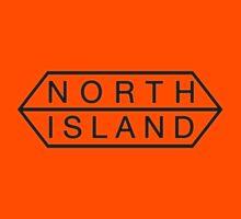 north island logo by dennis william gaylor