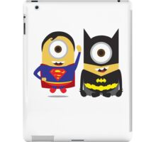 Man Of Steel and The Dark Knight Minions iPad Case/Skin