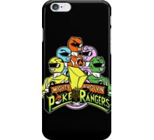 Poke Rangers iPhone Case/Skin