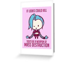 Jinx: League of Valentines Greeting Card
