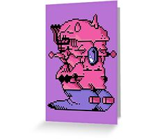 Double Slug - Video Game Project Greeting Card