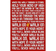 You'll Never Walk Alone Photographic Print