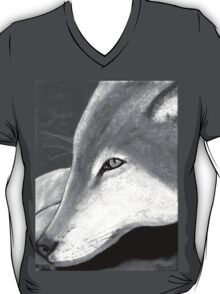 Lone Wolf T Shrit in black and white T-Shirt