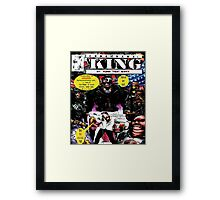 """Code Name: King""  - Comic Book Promo Poster  Framed Print"