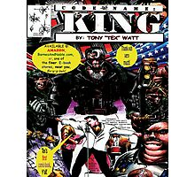"""Code Name: King""  - Comic Book Promo Poster  Photographic Print"