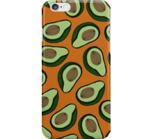 Avocado - Rust iPhone Case/Skin