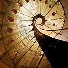 Spirals of steel and glass by JBlaminsky