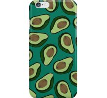 Avocado - Teal iPhone Case/Skin