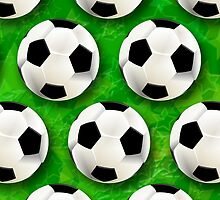 Soccer Ball Football Pattern by BluedarkArt