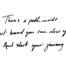 The Path Sticker