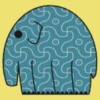 Buddhist Elephant by fludvd