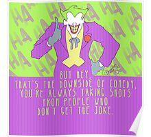 the joke! Poster