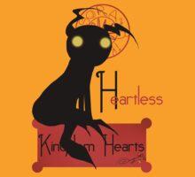 Heartless noir T-Shirt