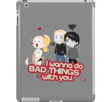 Bad Things iPad Case/Skin