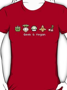 Geek and Vegan T-Shirt
