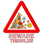 Warning tribbles by puppaluppa