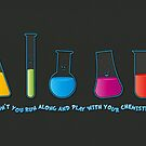 Play with your chemistry set by puppaluppa