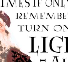 Dumbledore Quote Sticker