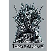 Throne of Games - You Win Or You Die Photographic Print