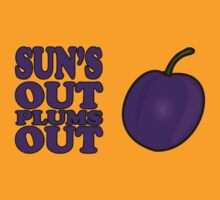 Sun's Out Plums out by Tim Topping