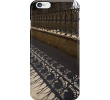 Shapes and Shadows - Antoni Gaudi, Park Guell, Barcelona, Catalonia, Spain iPhone Case/Skin