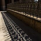 Shapes and Shadows - Antoni Gaudi, Park Guell, Barcelona, Catalonia, Spain by Georgia Mizuleva