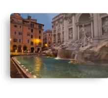 Rome's Fabulous Fountains - Trevi Fountain at Dawn Metal Print