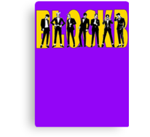 Block B Very Good group Canvas Print