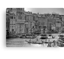 Messing about in boats - B&W Canvas Print